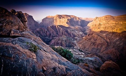 Stunning view in Jebel Akhdar, Oman