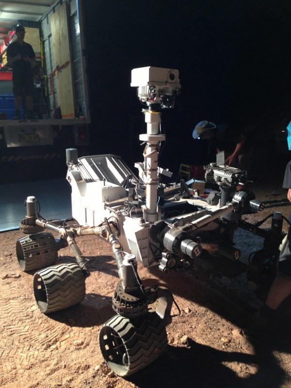 Qantas Curiosity Rover A fully remote control model of