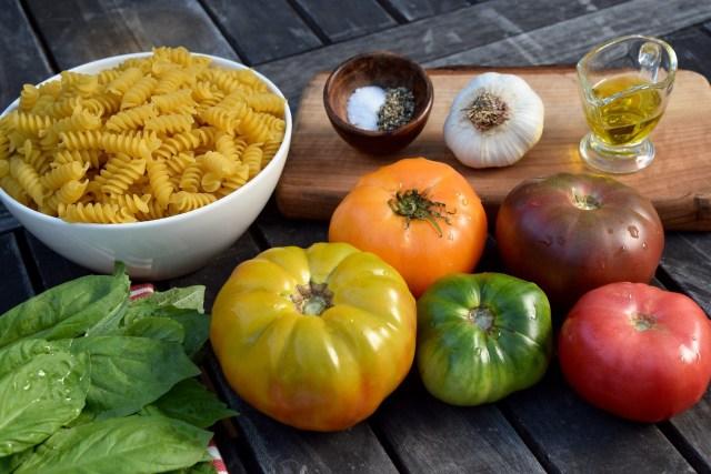 simple fresh ingredients