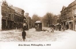 1911 Erie from Square
