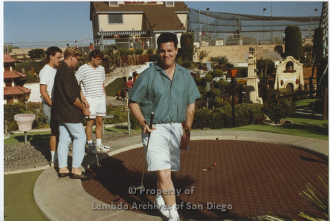 AIDS Foundation of San Diego: Miniature Golf - 1990, Recreational Activity: