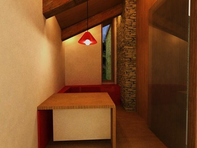Rehabilitación dunha casa rural da aldea de Casaio na provincia de Ourense por María Saavedra