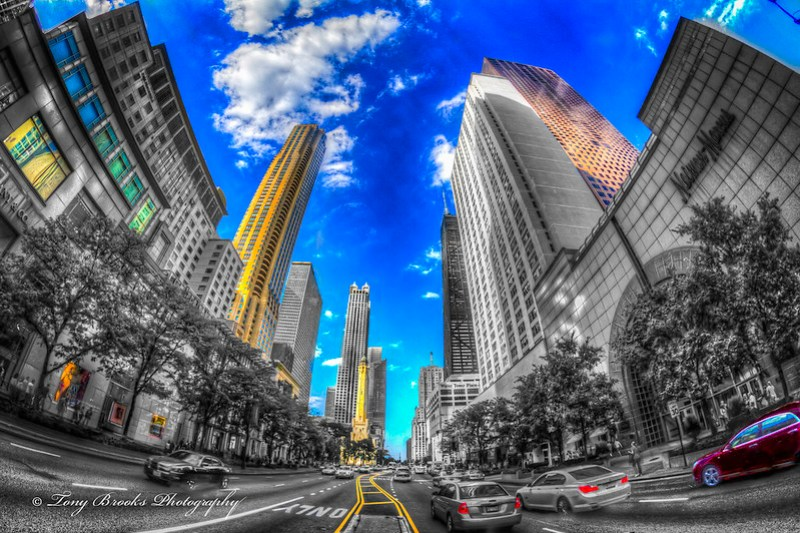 Courage on the Magnificent Mile