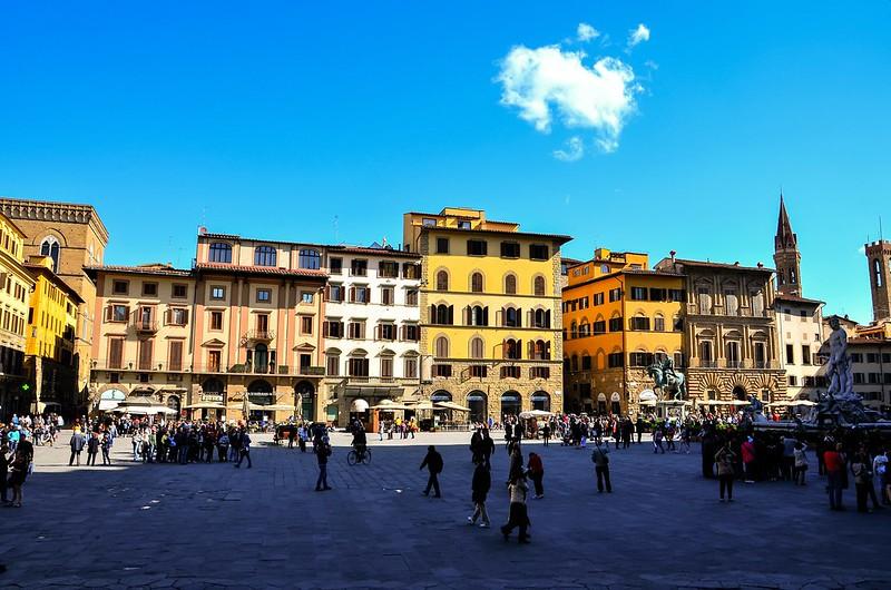 Firenze / Florence : Piazza della Signoria