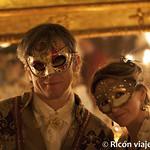 Viajefilos en el Carnaval de Venecia, cena de carnaval 13
