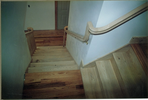 Stair Rail Work Michael Kline And Company Michael Kline And | Stair Rails For Elderly | Porch | Stair Climbing | Stainless Steel | Stair Climber | Cmmc Handrail