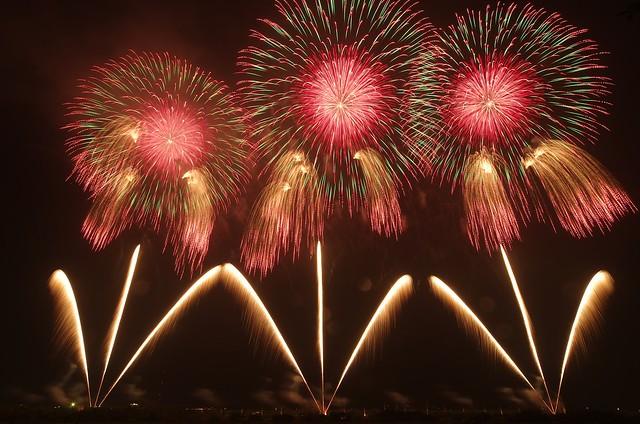 第23回赤川花火記念大会 The 23rd Fireworks Festival in Akagawa