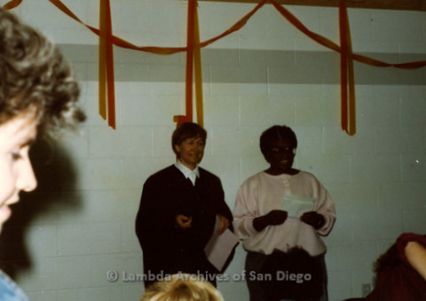 P240.068m.r.t Lesbian Chili Cookoff 1989: Vertez Burks and Chris receive award