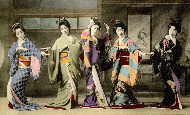 Shinbashi Genroku Odori 1905