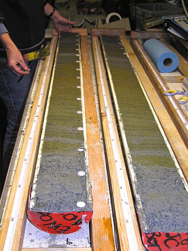Sediment Core Marine Sediment Core Recovered Off