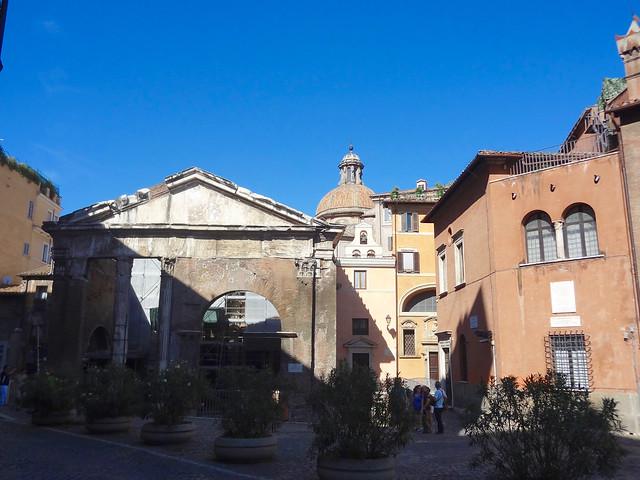 Roma Portico d'Ottavia - 1