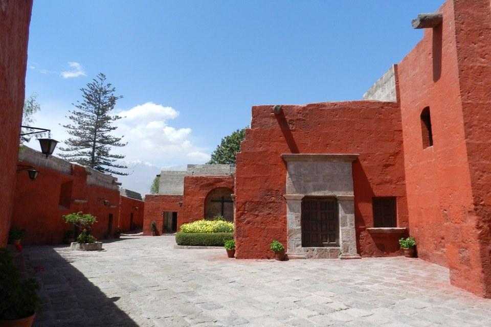 Arequipa Convento de Santa Catalina sus calles Perú 20