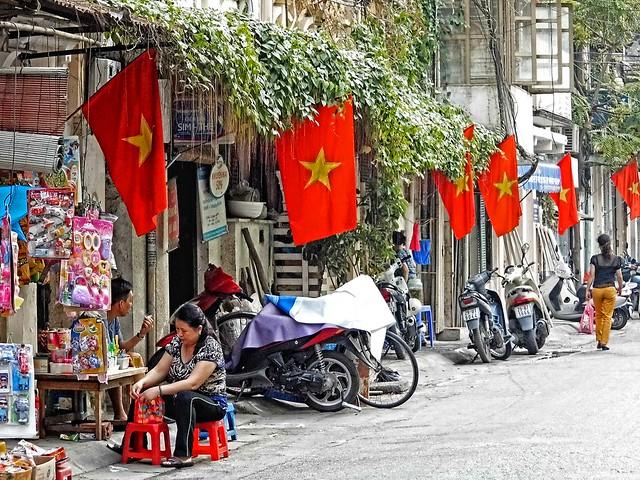 Hanoi . Liberation Day
