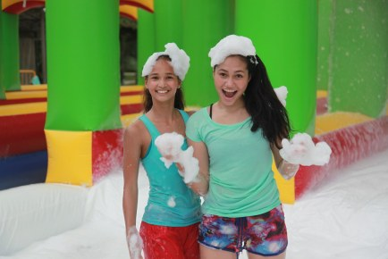 The 5K Foam Run 2014