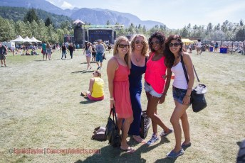 Crowd & Grounds @ Squamish Valley Music Festival - August 9th 2014