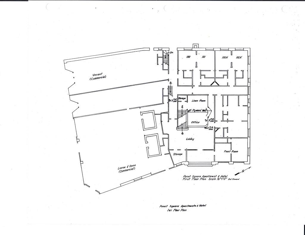 First Floor Diagram