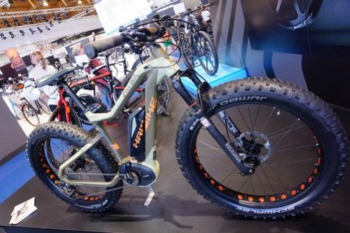 Eurobike 2014: Haibike electric fatbike