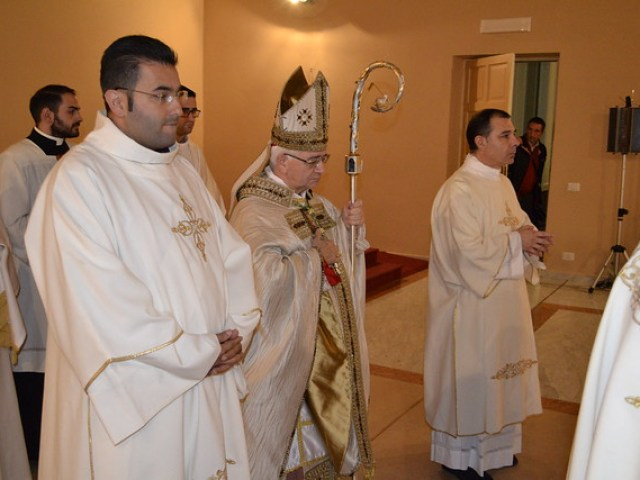 Solenne Concelebrazione Eucaristica di Ringraziamento in occasione della chiusura dell'Anno Giubilare straordinario della Misericordia e Ordinazione Diaconale di cinque Accoliti