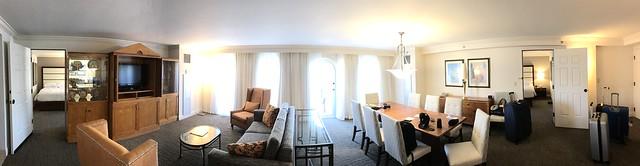 Suite presidencial Hilton Naples