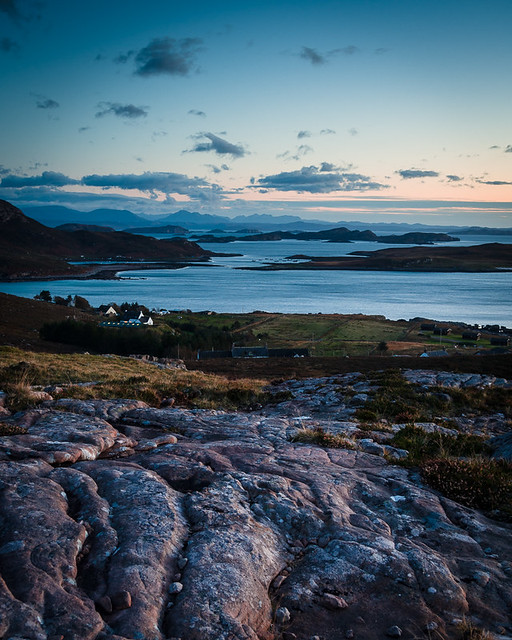 View across Altandhu and the Summer Isles