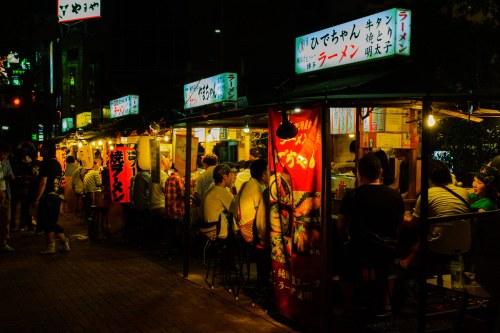 Nakasu Yatai Stalls