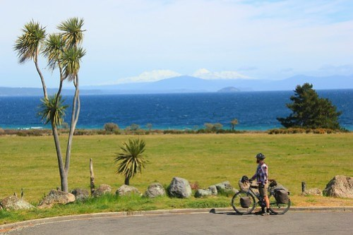 Looking over Lake Taupo