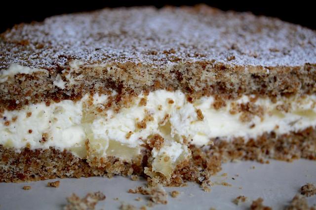 Amalfi Pear & Ricotta Cake - 35
