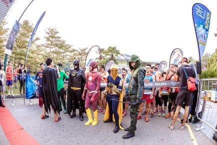 DC Justice League Run Singapore 2015