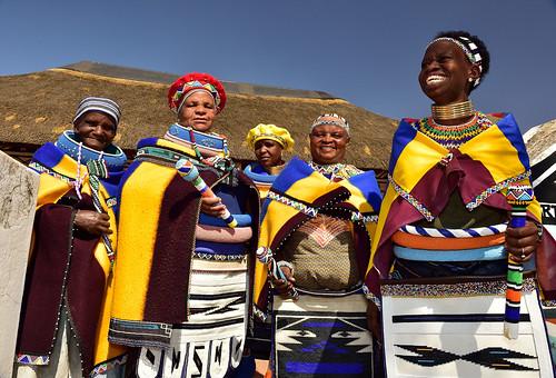 Women of Ndebele Village, Mpumalanga, South Africa