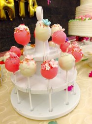 pink pop cakes