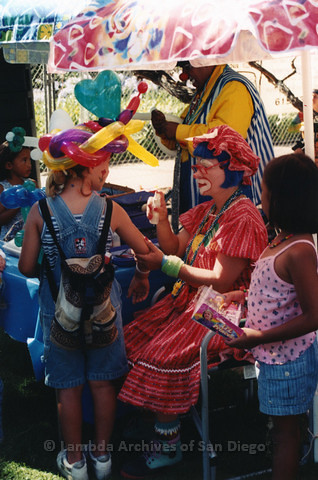 Children's Garden at San Diego LGBTQ Pride Festival, 1999
