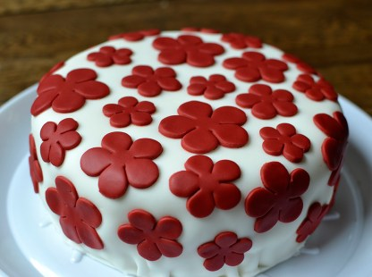 Flower Power Red Velvet