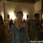 Viajefilos en el Carnaval de Venecia, cena de carnaval 11