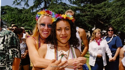 Commitment Ceremony at San Diego LGBTQ Pride Festival, 2001