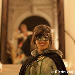 Viajefilos en el Carnaval de Venecia, cena de carnaval 08