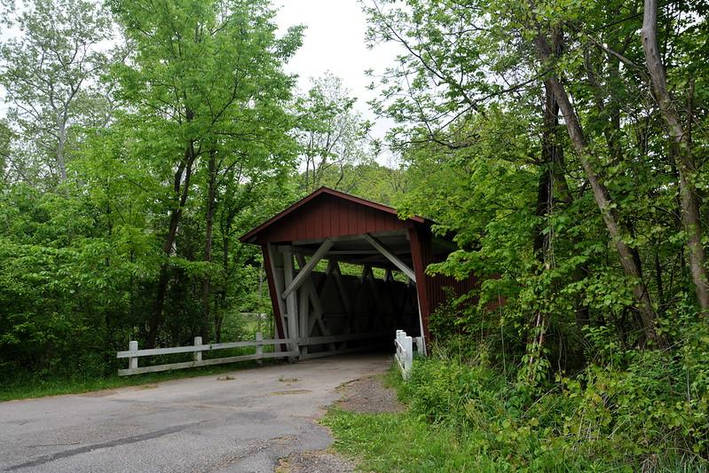 Everett Covered Bridge over Furnace Run