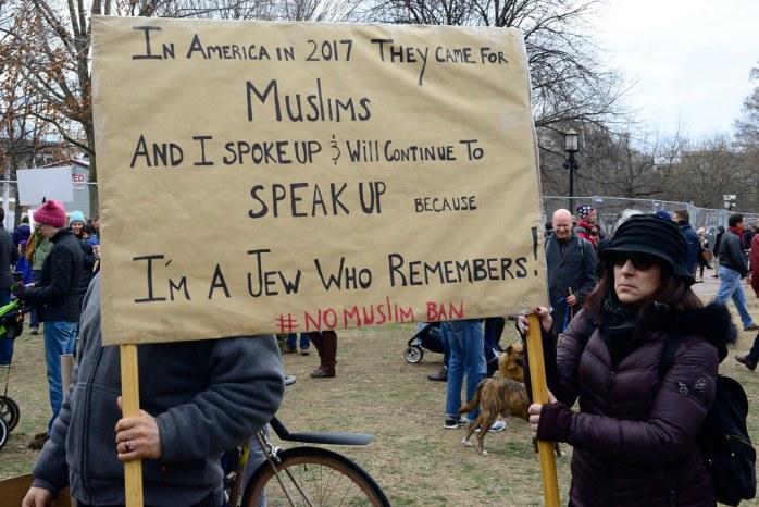 DC Opposes Trump\u0026#39;s Muslim Ban 11   Washington DC, Sunday ...