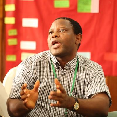 Augustine Ayantunde (ILRI) (Photo credit: IITA/Jonathan Odhong')