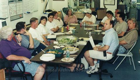 San Diego LGBTQ Pride Coordinator Meetings, 1999