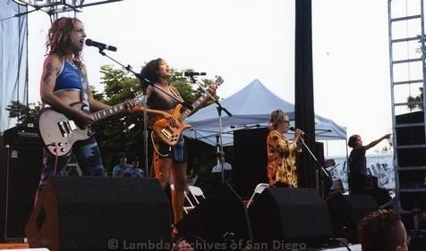 Main Stage at San Diego LGBTQ Pride Festival, 2000