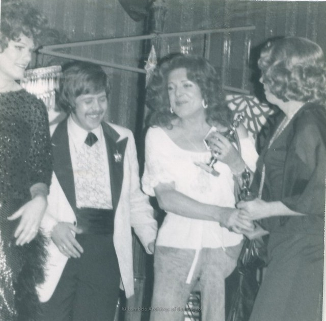 The Hooker-Hustler Ball, Trollop Awards at Ball Express Gay Men's Dance Club in San Diego - 1976