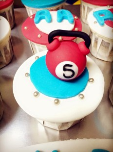 kettlebell cupcake