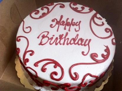 Red Velvet Birthday Cake