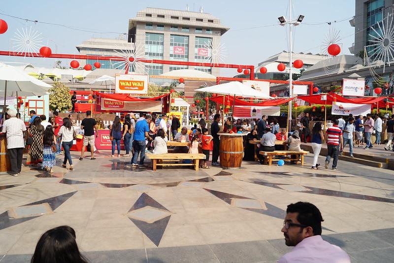 #Mafia and street food fest