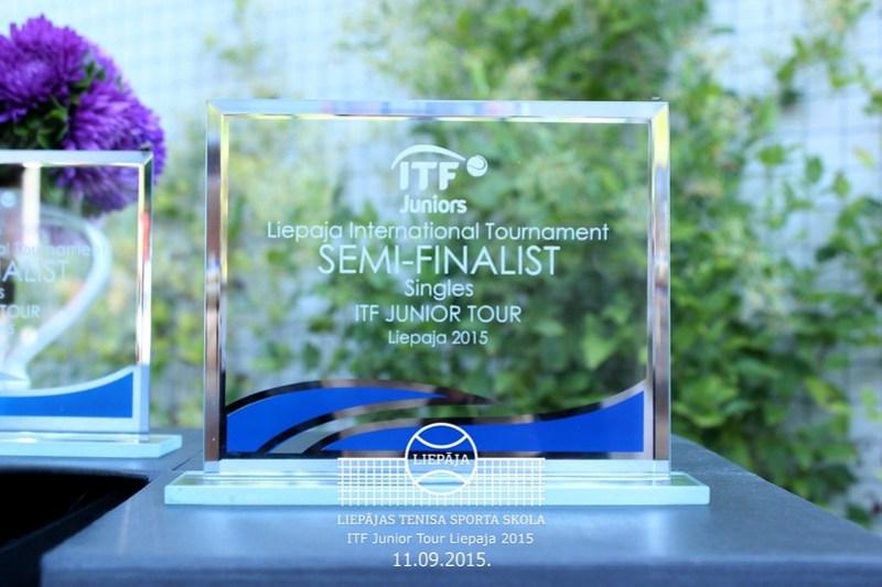 ITF Liepaja International tournament, Day 5 - semifinals, September 11, 2015