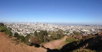 Vue de la ville de San Francisco Pont du Golden Gate lors de la visite privée de San Francisco avec www.frenchescapade.com