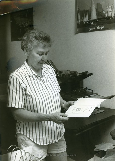 Barbara Crusberg, c.1986