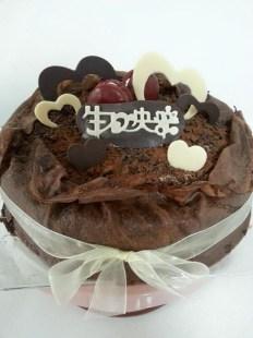 dark chocolate milie crepe