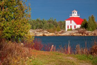 boulanger point / shoal island lighthouse