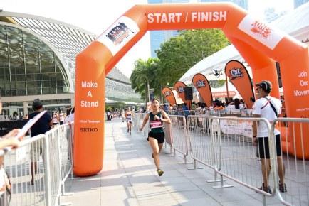 "Orange Ribbon Run & Walk – ""Race Against Racism"" 2015"